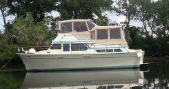 1973 Tollycraft 40 Tri-Cabin