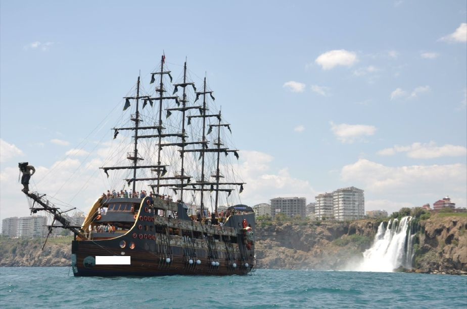 . 2012 Pirate Ship Power Boat For Sale   www yachtworld com