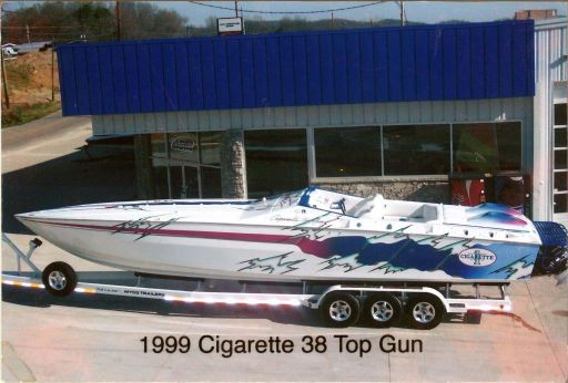 1999 Cigarette Racing Top Gun 38
