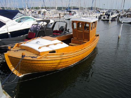 "1995 Traditional Swedish ""Julle"" Wooden Boat"
