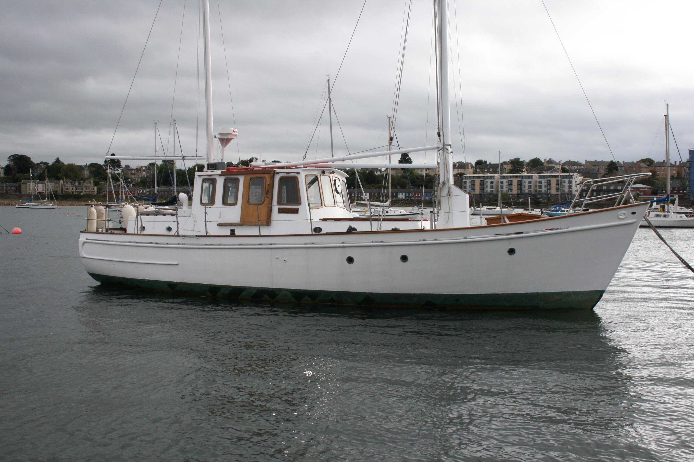 1964 Sole Bay Ketch Motor Sailer Sail Boat For Sale Www