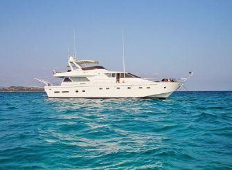 1986 Cantiere Navale Arno Leopard 21m Fly