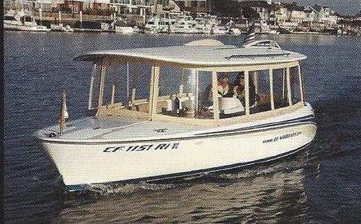 2007 Lear 204 Duffy Electric Boat w/Hardtop