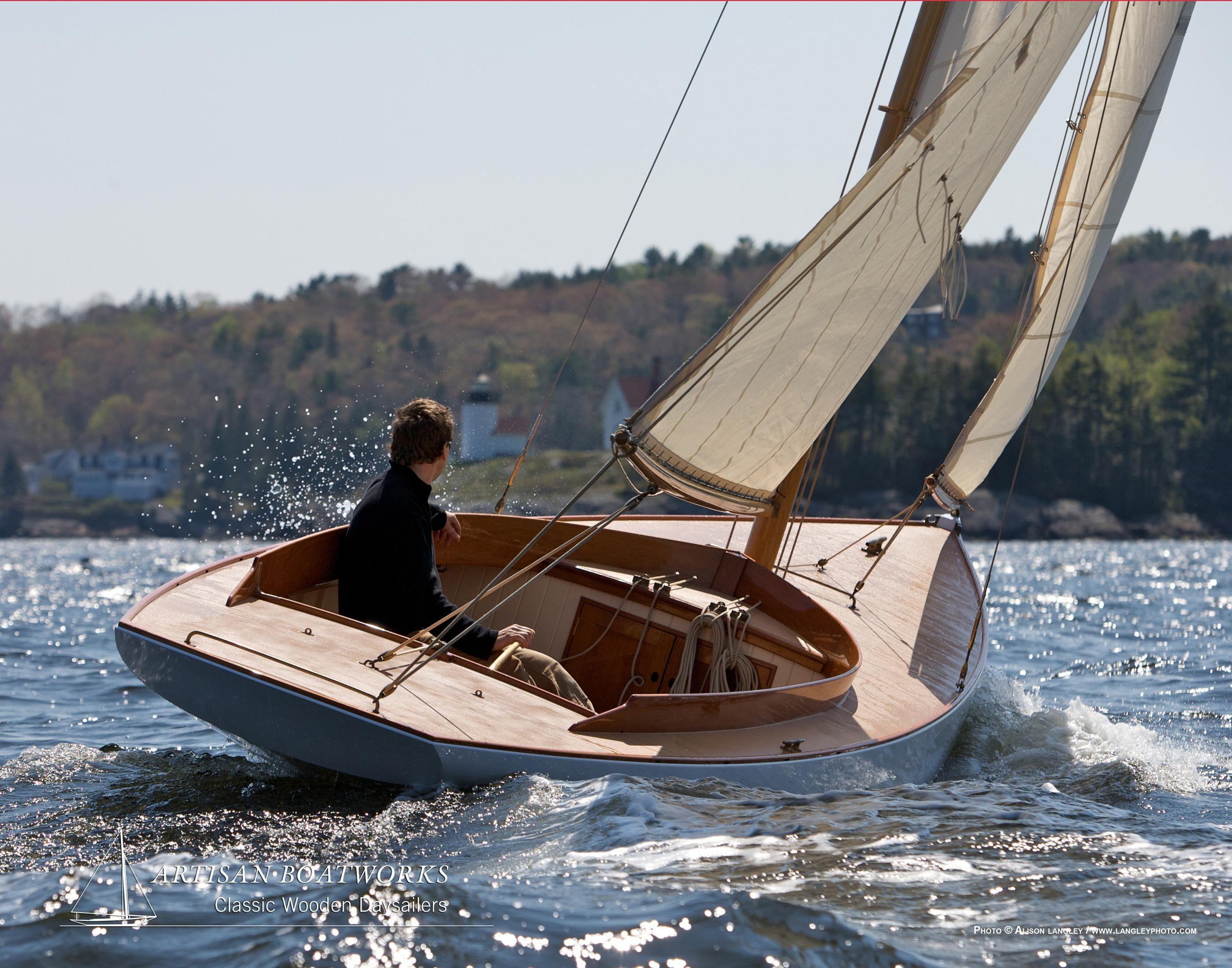 2018 Herreshoff Buzzards Bay 15 Sail Boat For Sale Www
