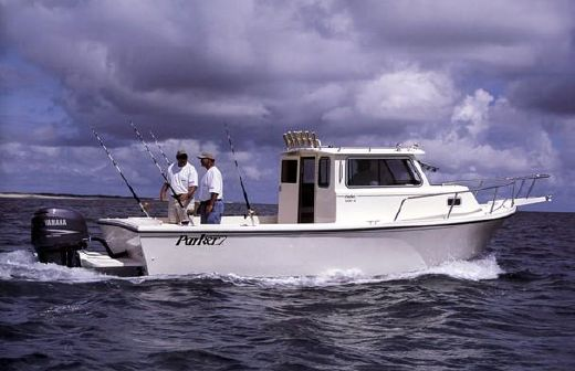 2002 Parker 2520 XL Sport Cabin