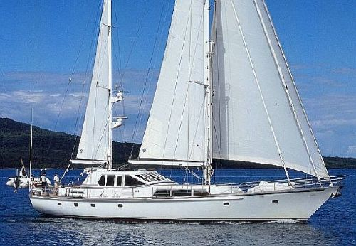1990 Don Brooke Pilothouse Ketch