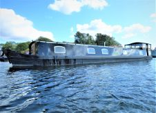 2017 Wide Beam Narrowboat Burscough 70 x 12