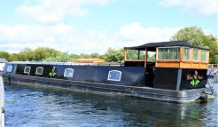 2017 Wide Beam Narrowboat by Burscough Boats 70 x 12