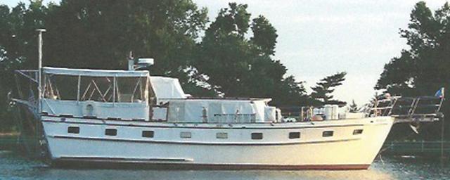 46 ft 1982 marine trader trawler