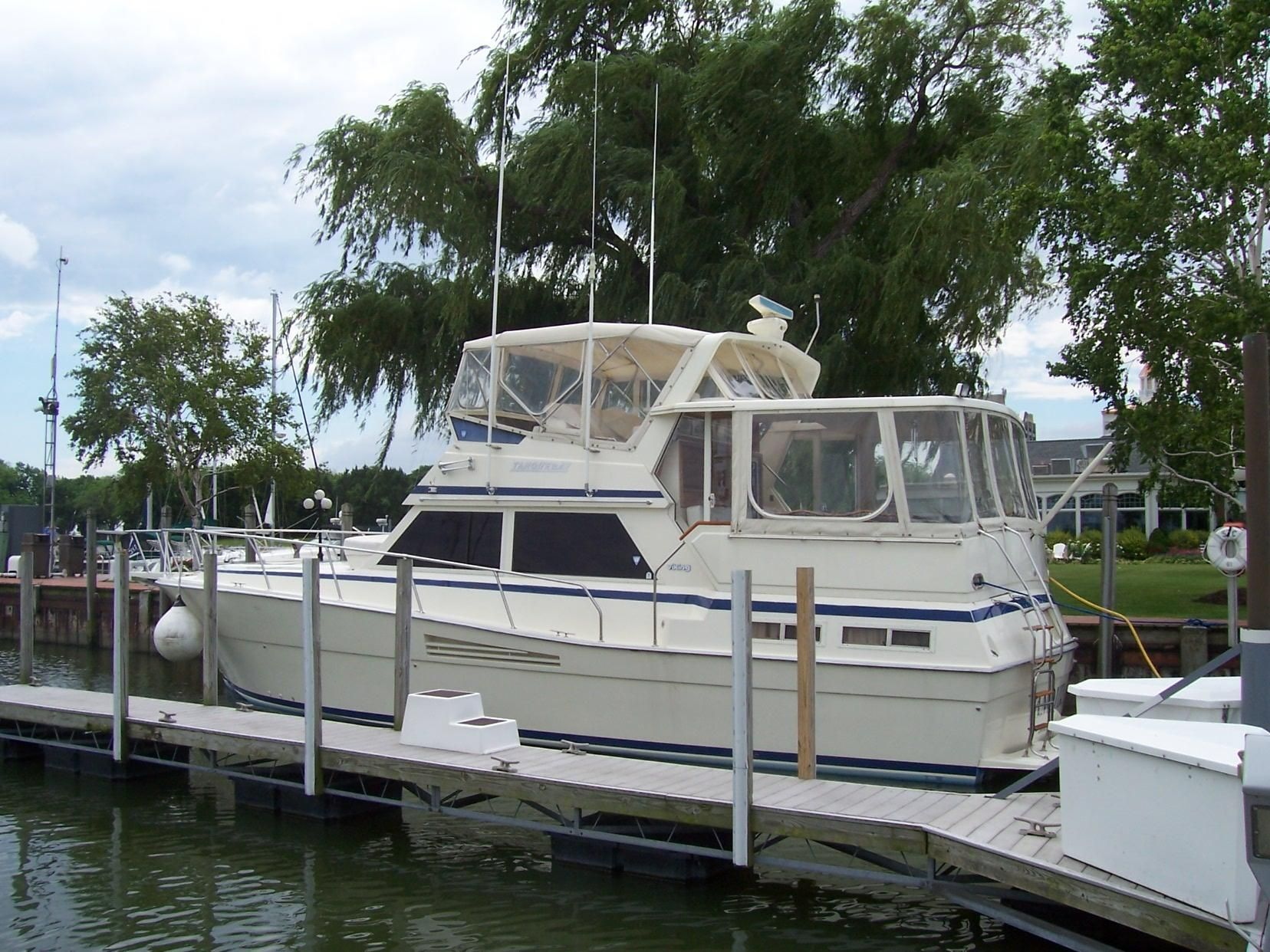 1988 Viking Motor Yacht Power Boat For Sale Www