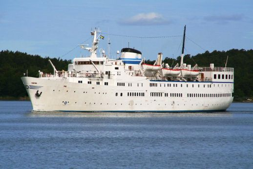 1953 Classic Small Cruise Ship, 369 Passengers -Stock No. S2472