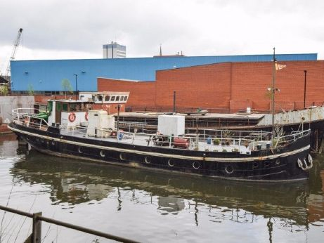 1934 Dutch Barge 86ft Project