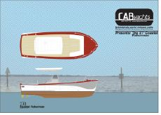 2015 Cab Yachts 270 Coastal Fisherman