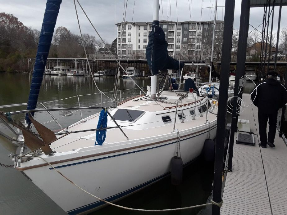 1987 Catalina 34 Sail Boat For Sale - www yachtworld com