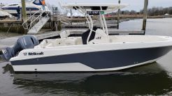 2017 Wellcraft 222 Fisherman