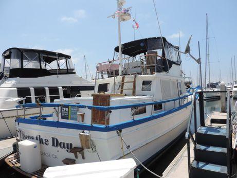 1978 Marine Trader 44' Tri-Cabin Trawler