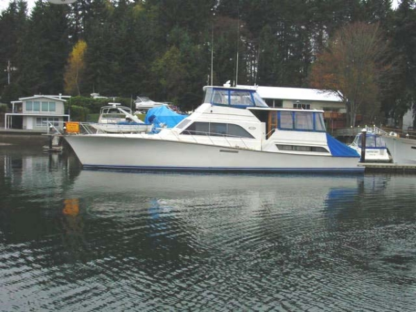 Gig Harbor (WA) United States  city photo : 1986 Ocean Sunliner Power Boat For Sale www.yachtworld.com