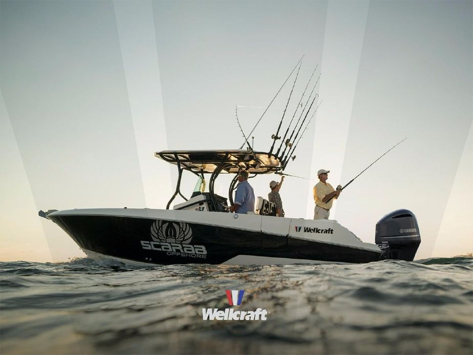 Wellcraft 30 scarab for sale waa2 for Scarab 195 open fish