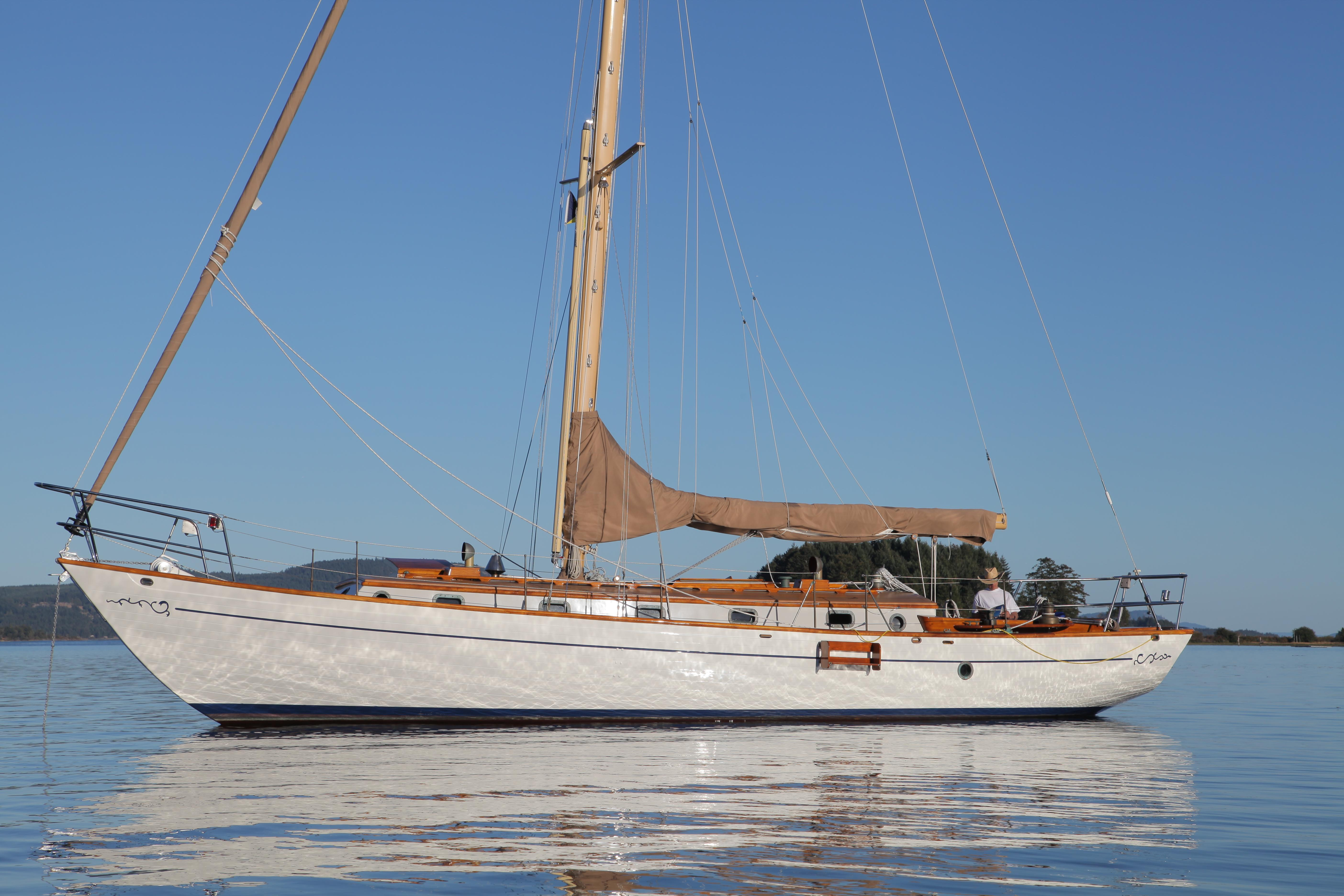 1972 Islander Yachts 55 Sail Boat For Sale Www