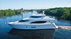 2008 Hatteras Skylounge Motoryacht