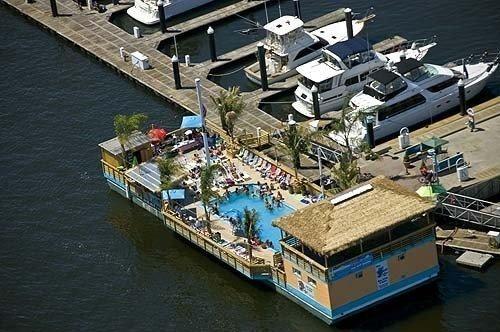 1987Custom Tiki Barge w/ Pool