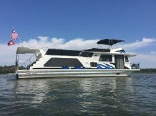 1995 Custom Wavelength Houseboat