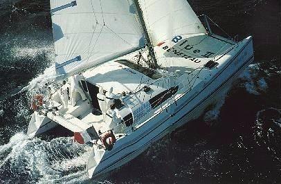 1989 Beneteau Catamaran Type Blue 2