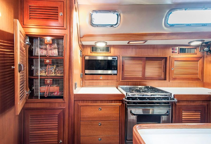 Jboats J65 Kitchen Galley