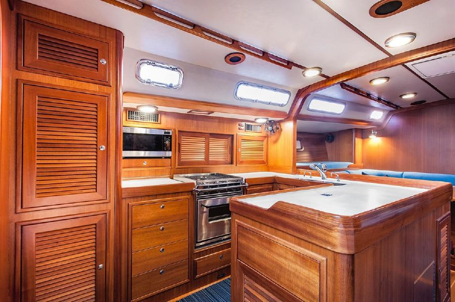 Jboats J65 Galley Kitchen