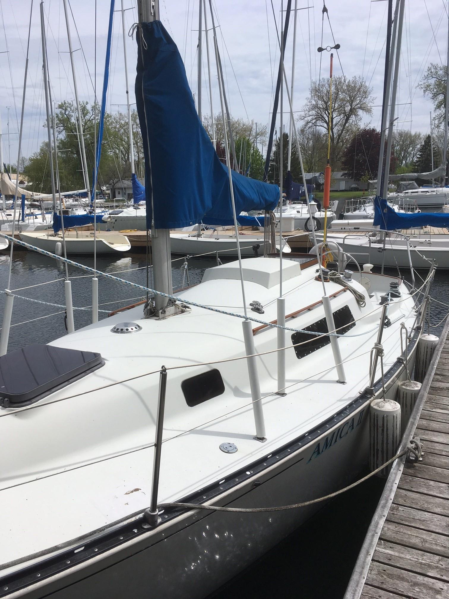 1981 C U0026c 27 Mk Iv Sail Boat For Sale