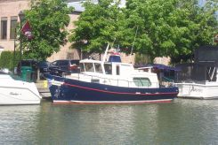1995 Custom 34 Steel Trawler
