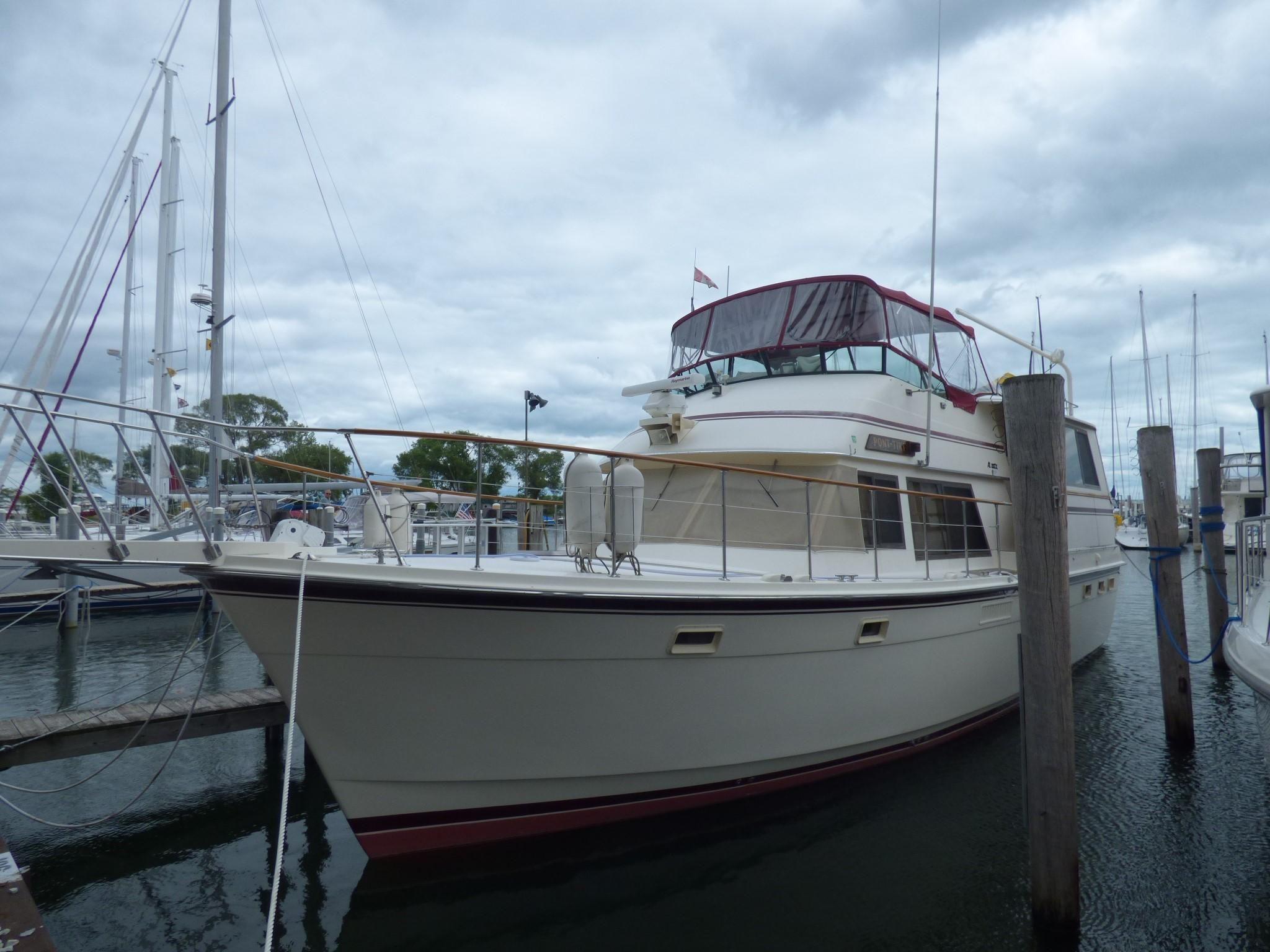 47 Atlantic Motor Vessel: 1985 Atlantic 47 MY Power Boat For Sale