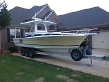 2002 Strike 29 FT Center console with cuddy