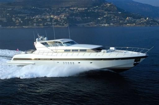 2001 Overmarine Mangusta 105 open