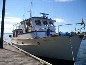 1979 Bluewater Trawler Pilothouse