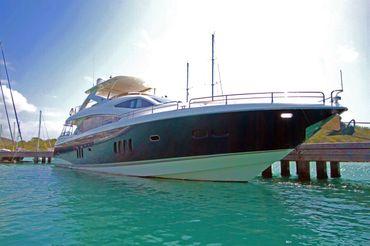 thumbnail photo 1: 2008 Sunseeker 86 Yacht