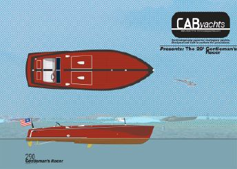 2015 Cab Yachts 290 and 250 Gentleman's Racers
