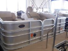 2012 Xcursion 23 Rear Lounge