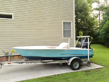 2015 Winter Custom Carolina 16 Flats Skiff