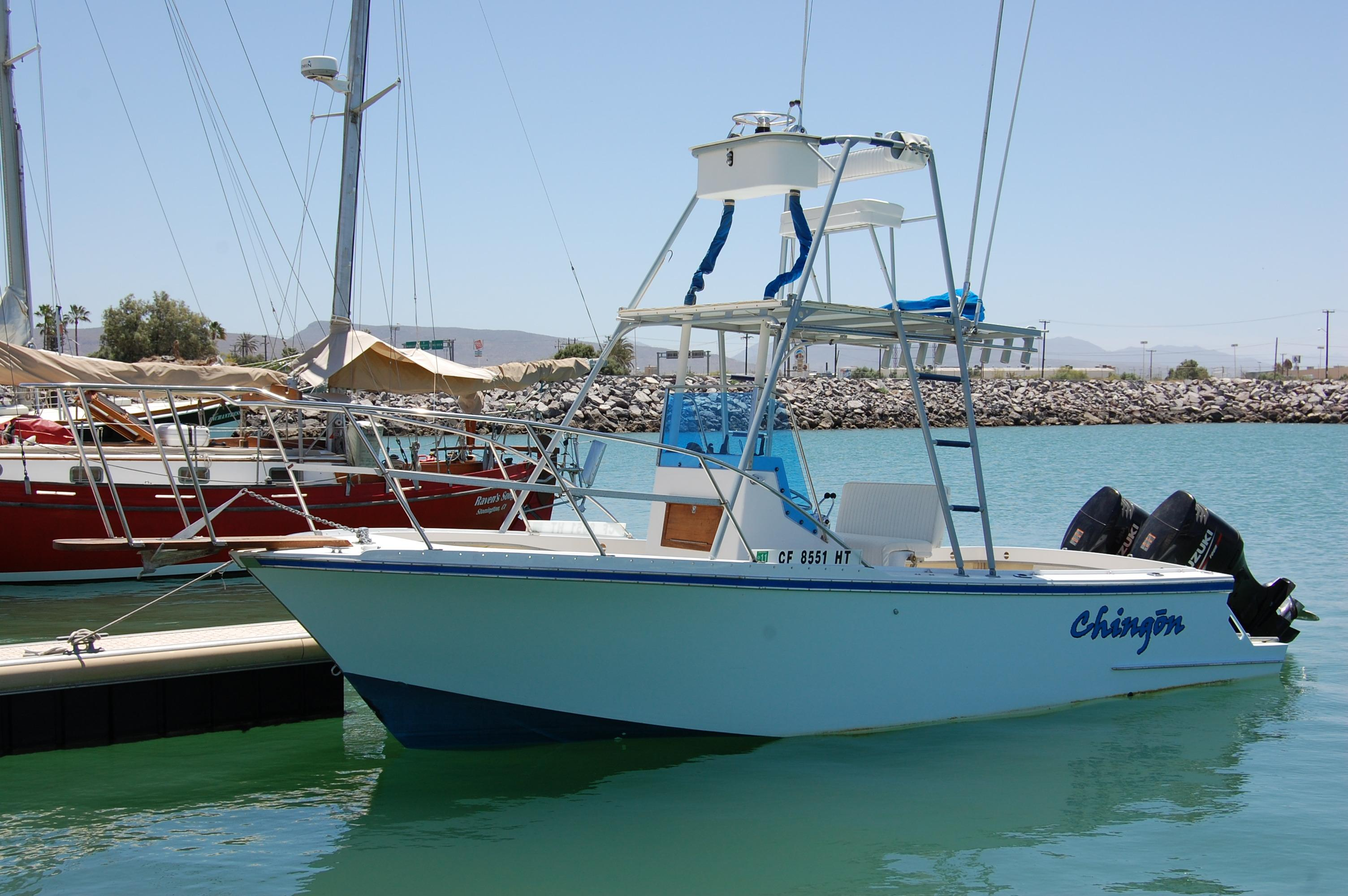 24' Hull Line Center Console Sportfisher+Boat for sale!