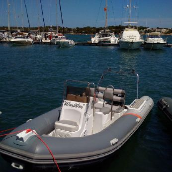 2015 Piranha Ribs P560 ocean sport