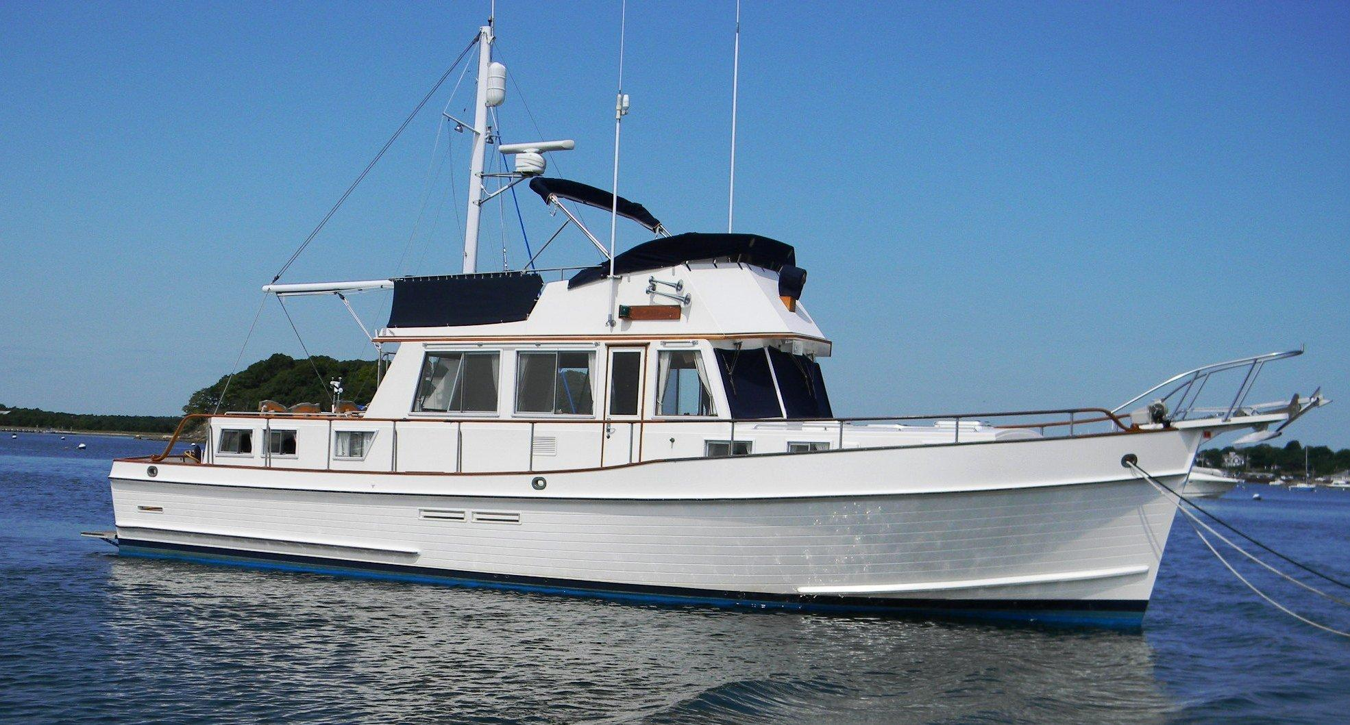 Grand Banks 46 Classic, Onset Bay, MA