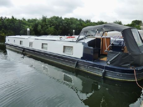 2013 Viking Canal Boats 70' x 11' Widebeam Narrowboat