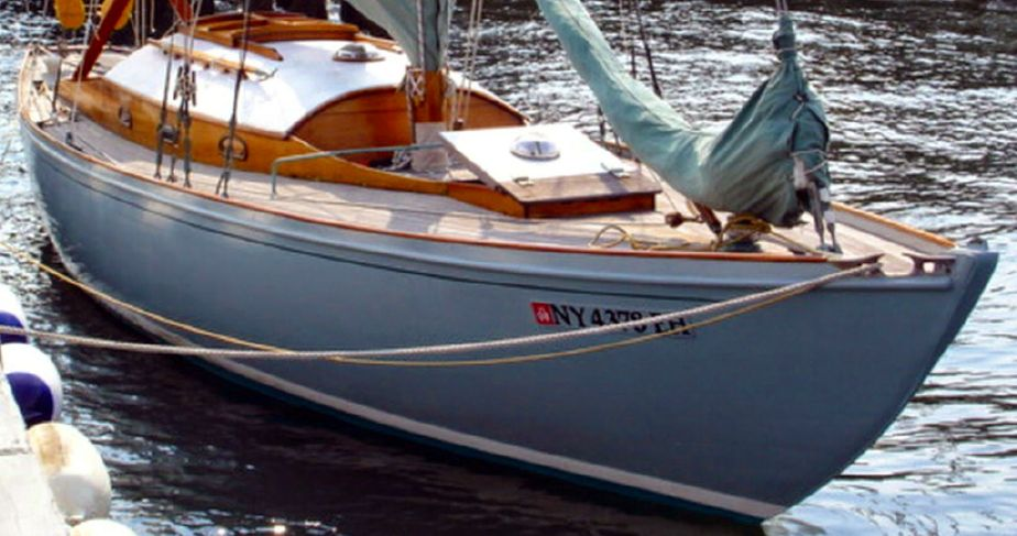 Wooden Sailboats For Sale >> 1956 Swedish Wood Sloop Sail Boat For Sale Www Yachtworld Com