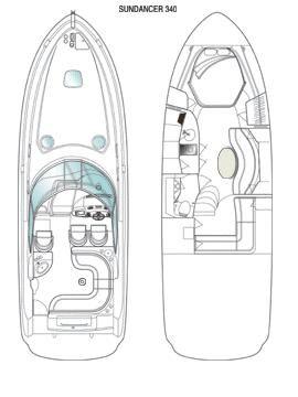 2005 Sea Ray 340 Sundancer Power Boat For Sale - www