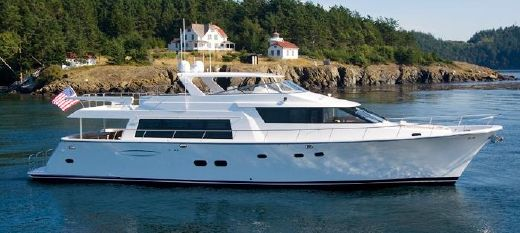 2008 Pacific Mariner Raised Pilothouse