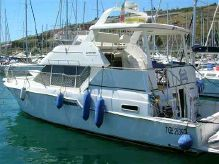 1998 Custom Carver Boat 400 COCKPIT M.Y.
