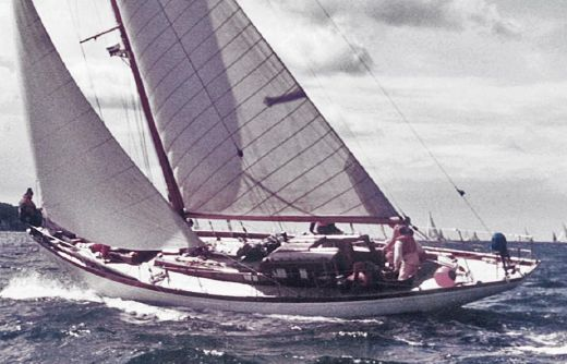 1955 Bjarne Aas 60 ft  12 m Cruiser Racer Sloop