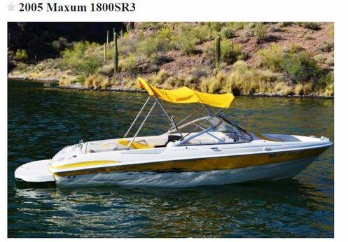 2005 Maxum SR3