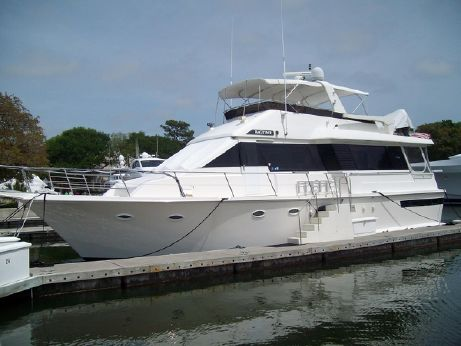 1990 Viking Yachts 55 Extended Aft Deck Motor Yacht